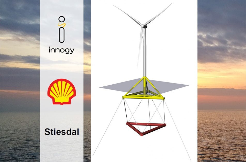 Floating wind: Shell, Innogy and Stiesdal collaborate to demonstrate TetraSpar concept in Norway