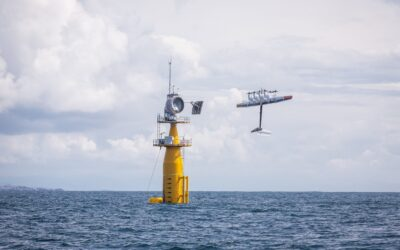 Makani's first offshore flight last week