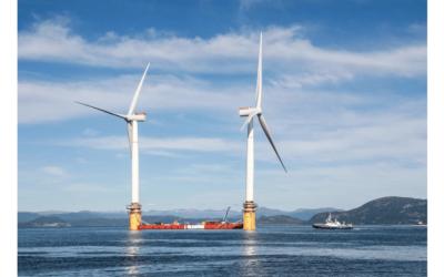 Flytende havvind kan bli norsk milliardindustri!