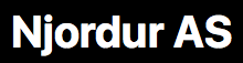 Njordur_logo