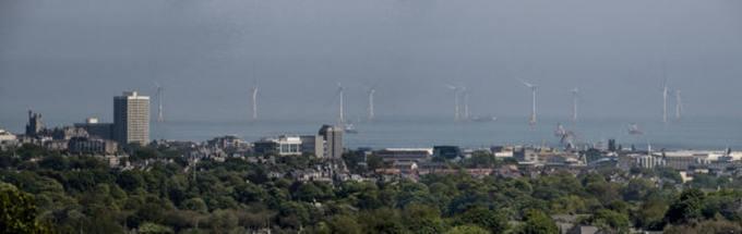 Aberdeen view Credit- Vattenfall:PA