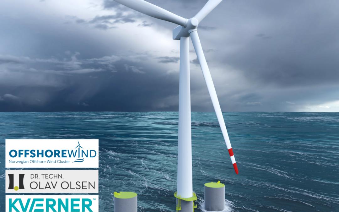 EU gir 290 millioner kroner til testing av flytende havvind i Rogaland